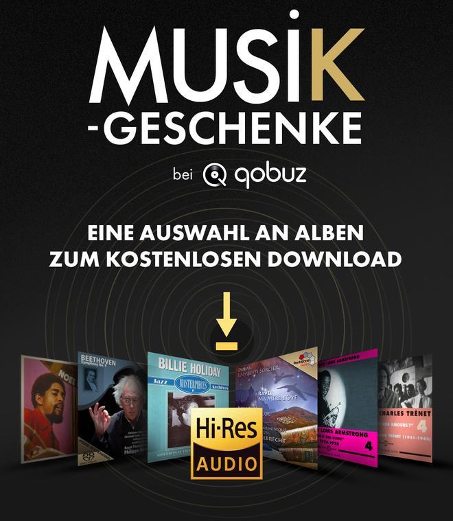 Qobuz Musik Geschenke Aktion